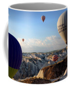 Hot Air Balloons Over Cappadocia Coffee Mug