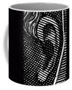 Human Ear Coffee Mug