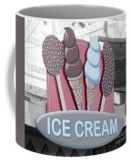 Ice Cream Sign Coffee Mug