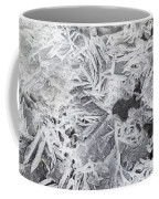 Ice Patterns On Pond, Alberta Canada Coffee Mug