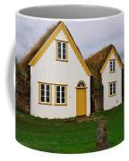 Icelandic Turf Houses Coffee Mug