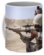 Iraqi Army Sergeant Sights Coffee Mug