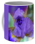 Iris Square Coffee Mug