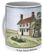 Isaac Newton Birthplace Coffee Mug