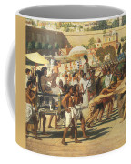 Israel In Egypt Coffee Mug by Sir Edward John Poynter