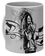 Janis In Black And White Coffee Mug