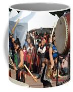 Japanese Drummers Perform In Kaohsiung Taiwan Coffee Mug