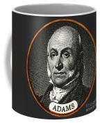 John Quincy Adams, 6th American Coffee Mug