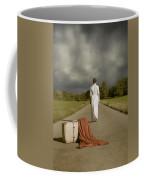 Lady On The Road Coffee Mug