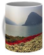 Lake Lugano - Monte Salvatore Coffee Mug by Joana Kruse