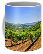 Landscape With Vineyard Coffee Mug