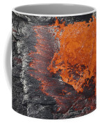 Lava Bursting At Edge Of Active Lava Coffee Mug