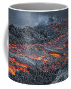 Lava Flow On The Flank Of Pacaya Coffee Mug