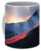 Lava Flowing From Base Of Hornito Coffee Mug