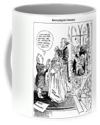 League Of Nations Cartoon Coffee Mug