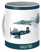 Legacy Of Flight Coffee Mug