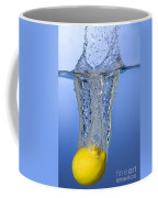 Lemon Dropped In Water Coffee Mug