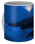 Lighthouse Beacon At Night Coffee Mug