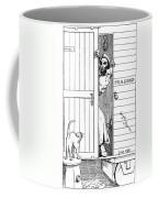 Lincoln Cartoon, 1863 Coffee Mug