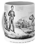 Lincoln: Cartoon, 1864 Coffee Mug