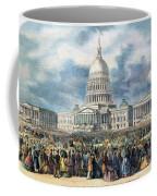 Lincoln Inauguration, 1865 Coffee Mug