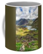 Llyn Idwal Lake Coffee Mug by Adrian Evans