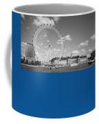 London Eye And County Hall Coffee Mug