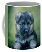 Long Coated Puppy Coffee Mug