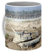 M1 Abrams Tank Is Bogged When Trying Coffee Mug