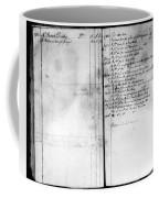Madison: Account Book Coffee Mug