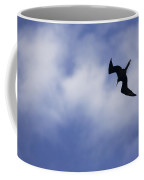 Magnificent Frigatebird In Flight Coffee Mug