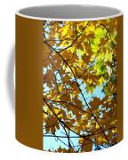 Maple Leaf Canopy Coffee Mug