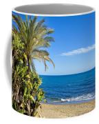 Marbella Beach In Spain Coffee Mug