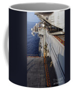 Marines And Sailors Fast-rope Coffee Mug by Stocktrek Images