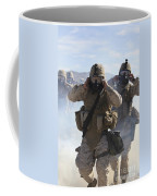 Marines And Sailors Participate In An Coffee Mug