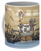 Mars Science Laboratory Rover Coffee Mug