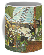 Mary Read And Anne Bonny, 18th Century Coffee Mug by Photo Researchers