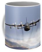 Mc-130p Combat Shadow Over Scotland Coffee Mug