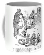 Mckinley Cartoon, 1900 Coffee Mug