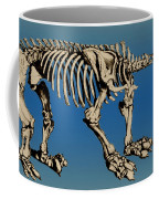 Megatherium Extinct Ground Sloth Coffee Mug