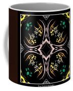 Metallic Flourishes Warp 2 Coffee Mug