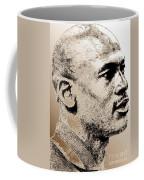 Michael Jordan In 1990 Coffee Mug