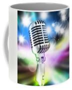 Microphone On Stage Coffee Mug