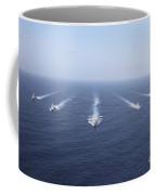 Military Ships Transit The Philippine Coffee Mug