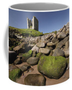 Minard Castle And Rocky Beach Minard Coffee Mug
