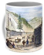 Mining Camp, 1860 Coffee Mug