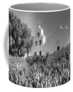 Mission San Diego De Alcala Monochrome Coffee Mug