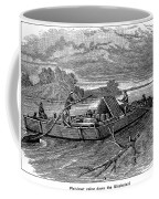 Mississippi: Flatboat Coffee Mug