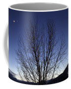 Moon And Venus Conjunction Coffee Mug
