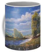 Moonlight On Clear Creek Coffee Mug